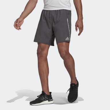 Men Running Grey Saturday Shorts