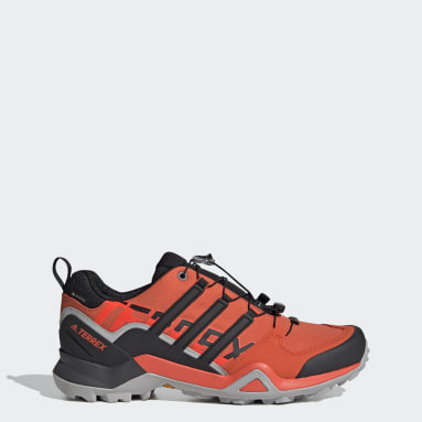Men TERREX Orange Terrex Swift R2 GORE-TEX Hiking Shoes