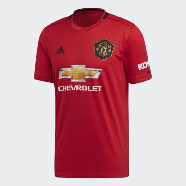 Camiseta Uniforme Titular Manchester United Rojo Hombre Fútbol