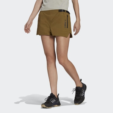 Women TERREX Green Terrex Hike Shorts