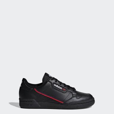 เด็ก Originals สีดำ รองเท้า Continental 80