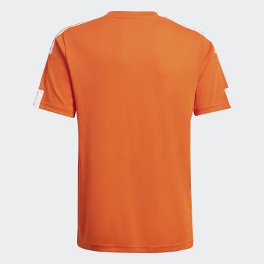 Youth 8-16 Years Football Orange Squadra 21 Jersey