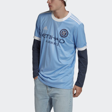 Men's Soccer Blue New York City FC 21/22 Home Jersey