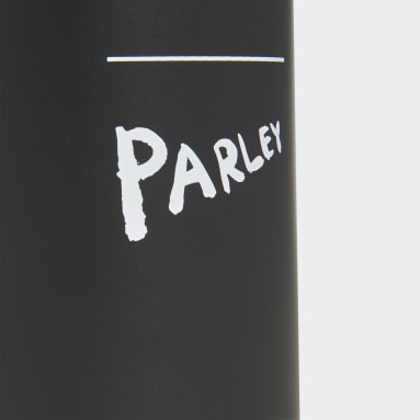 Training Black Parley for the Oceans Steel Water Bottle