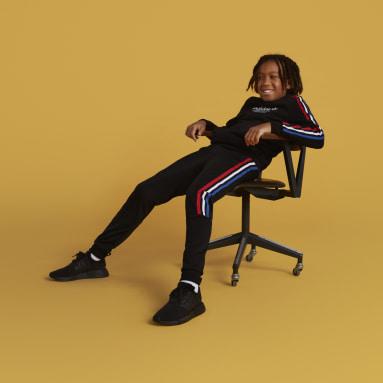 Pantalón Adicolor Negro Niño Originals