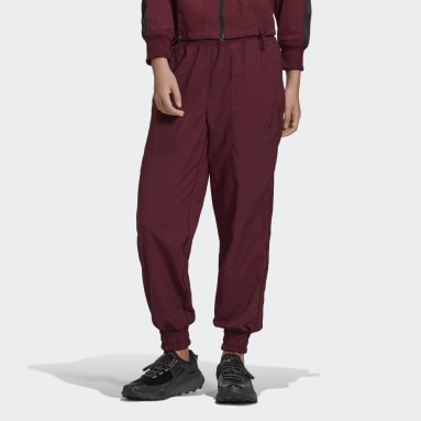 Women adidas by Stella McCartney Burgundy adidas by Stella McCartney College Joggers