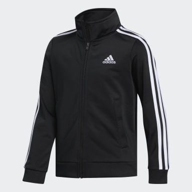 Youth Training Black Iconic Tricot Jacket