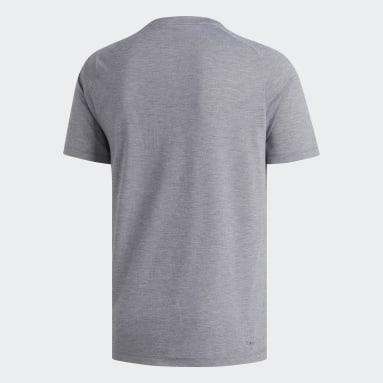 Heren Fitness En Training Grijs FreeLift Sport Prime Gemêleerd T-shirt