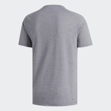 T-shirt FreeLift Sport Prime Heather Gris Hommes Fitness Et Training