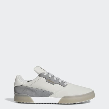 Golf Grey Adicross Retro Spikeless Shoes