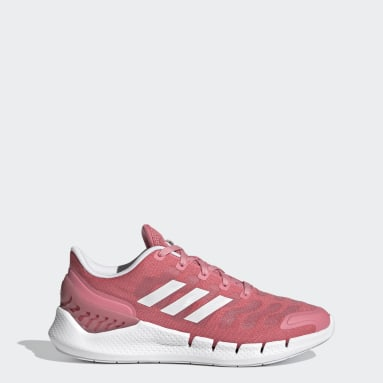 Sapatos Climacool Ventania Rosa Mulher Running
