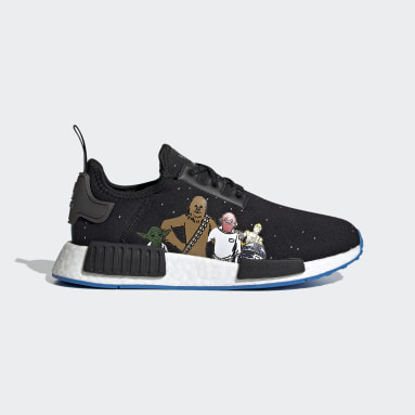 Chaussure NMD_R1 Star Wars noir Adolescents Originals