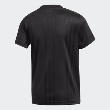 Camiseta Outline Negro Niño Originals