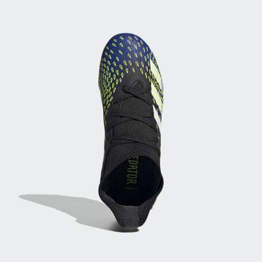 Zapatos de Fútbol Predator Freak.3 Terreno Firme Negro Niño Fútbol