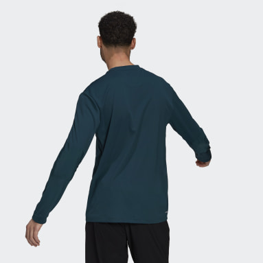 Men's Training Turquoise Sportphoria AEROREADY Long Sleeve Tee