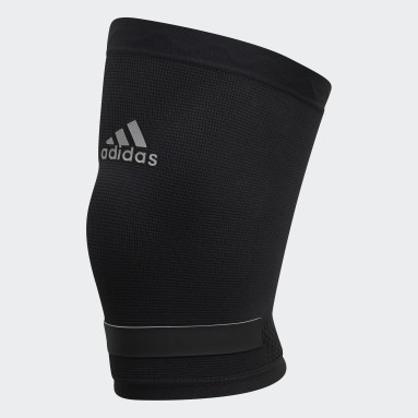 Yoga Black Performance Climacool Knee Support Large