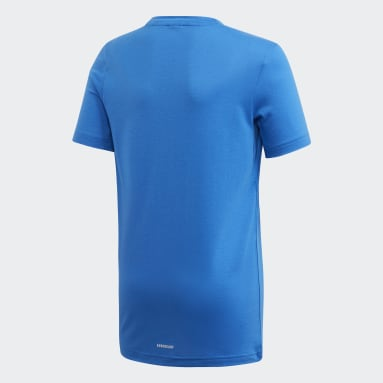 Youth 8-16 Years Yoga Blue Prime T-Shirt