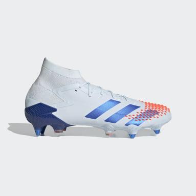 Men's Soccer Blue Predator Mutator 20.1 Soft Ground Cleats