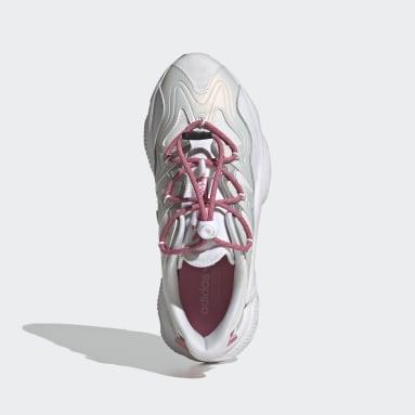 Women Originals White OZWEEGO Plus Shoes