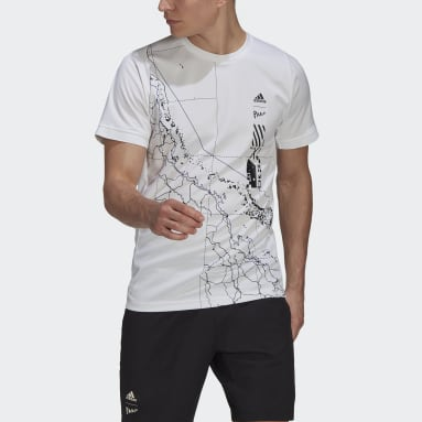 Men's Tennis White Tennis Parley Freelift Tee