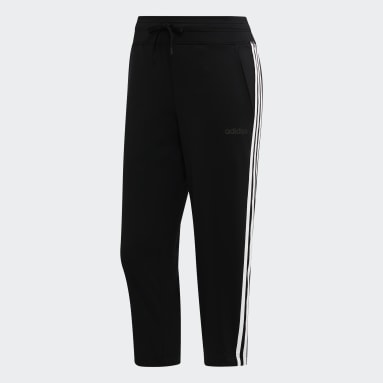 Pantalon 3/4 Design 2 Move 3-Stripes Noir Femmes Fitness Et Training