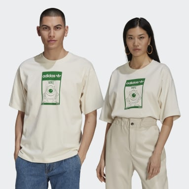 Originals White Mike Tee (Gender Neutral)