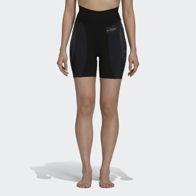 Women's Originals Black Pharrell Williams 18GG Biker Shorts