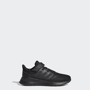 Çocuklar Koşu Siyah Run Falcon Ayakkabı
