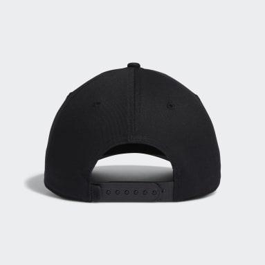 Men's Golf Black Adicross Bold Stripe Hat