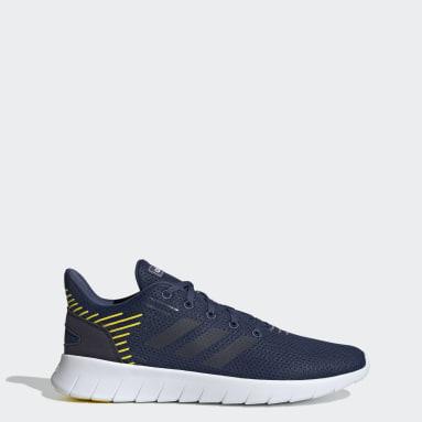 ผู้ชาย วิ่ง สีน้ำเงิน รองเท้าวิ่ง Asweerun