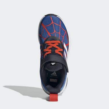 Children Training Blue Marvel Spider-Man FortaRun Shoes