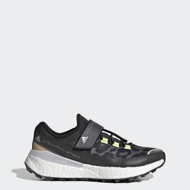 Women adidas by Stella McCartney Black adidas by Stella McCartney Outdoor Boost RAIN.RDY Shoes