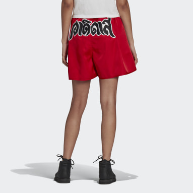 BOXING SHORT Rosso Donna Originals