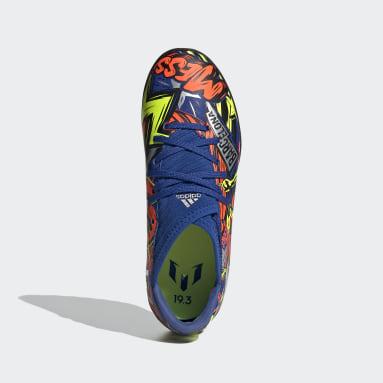 Zapatos de fútbol Nemeziz Messi 19.3 Pasto Sintético Azul Niño Fútbol