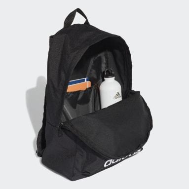 Handball Black Classic Big Logo Backpack