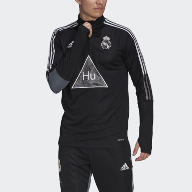 Real Madrid Human Race Training Top Czerń
