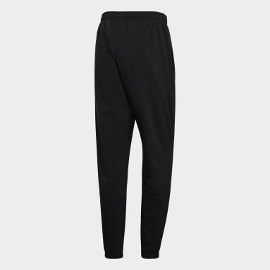 Men Lifestyle Black Essentials Linear Tapered Stanford Pants
