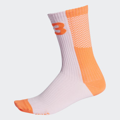оранжевый Носки Y-3 Colorblock