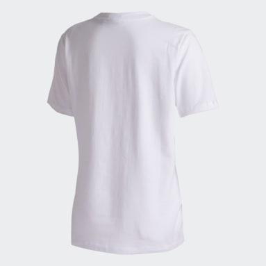 Camiseta TREFOIL Branco Mulher Originals