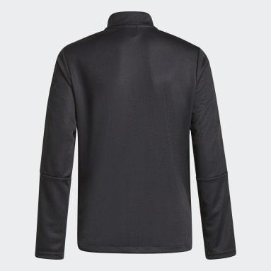 Boys Football Black Tiro Reflective Jacket