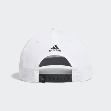Men Golf White Golf 3-Stripes Tour Hat