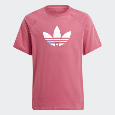 Kids Originals Pink Adicolor Graphic Tee