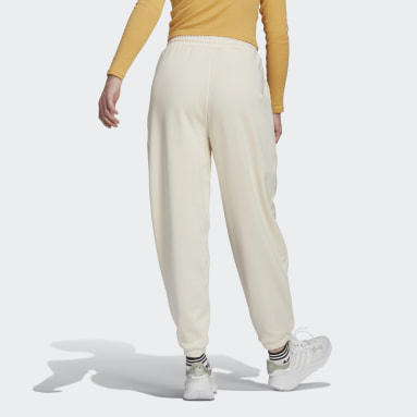 Pants Adicolor Classics No-Dye Relaxed Blanco Mujer Originals