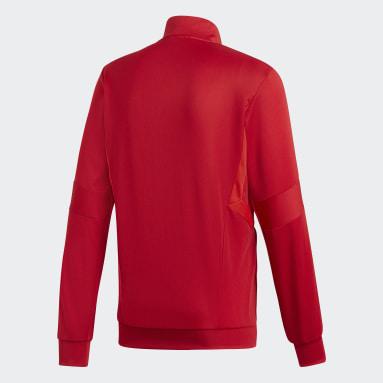 Veste d'entraînement Tiro 19 Rouge Hommes Fitness Et Training