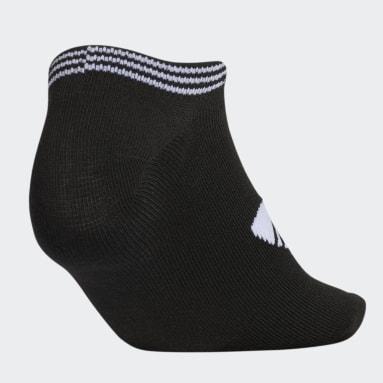 Women Originals Black Trefoil Superlite No-Show Socks 6 Pairs