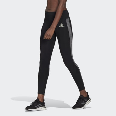 Women's Running Black Own The Run Primeblue Running Tights