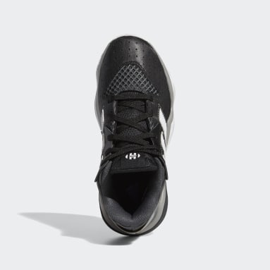 Youth Basketball Black Harden Stepback Shoes