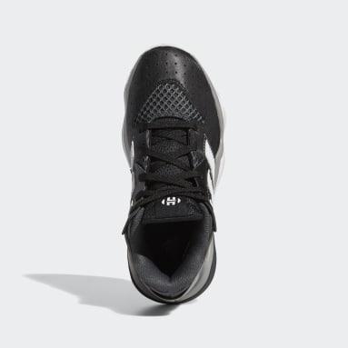 Tenis de básquet Harden Stepback (UNISEX) Negro Niño Basketball