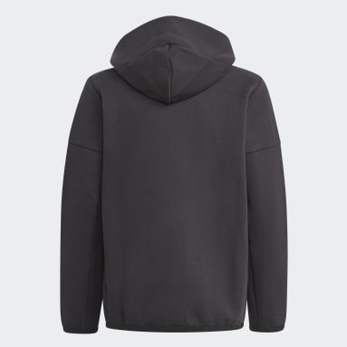 Boys Lifestyle Black Z.N.E. Full-Zip Hoodie
