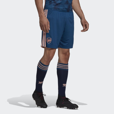 Men Football Blue Arsenal 20/21 Third Shorts